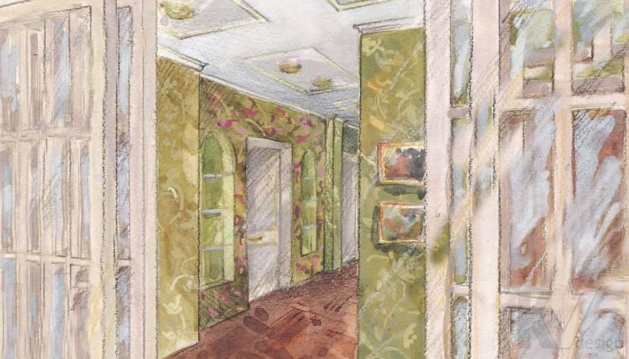 Дизайн 4-комнатной квартиры, Одинцово, корридор