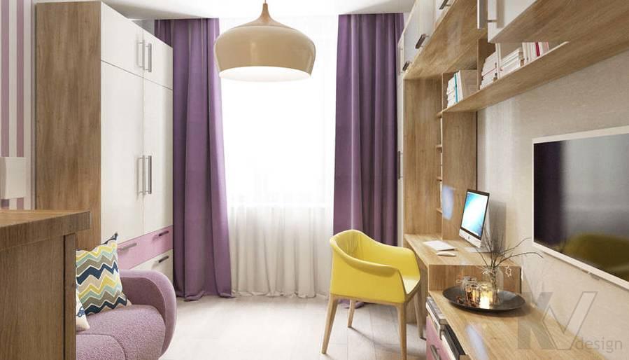 дизайн гостевой комнаты в 3-комнатной квартире, Митино - 3