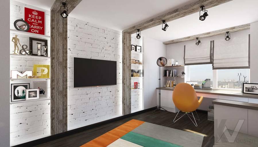 Дизайн комнаты мальчика в 5-комнатной квартире, Климовск - 2