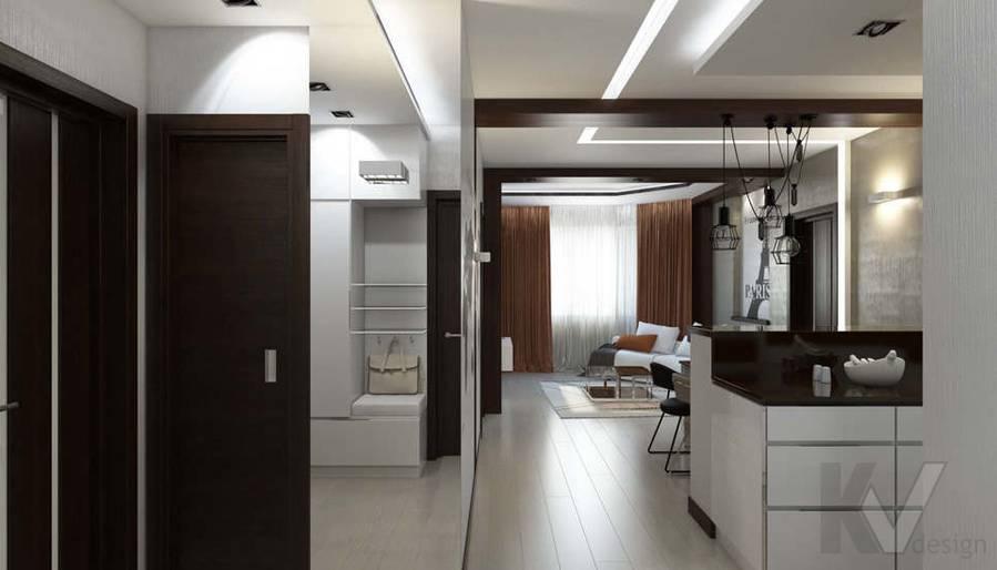 Дизайн прихожей в 2-комнатной квартире