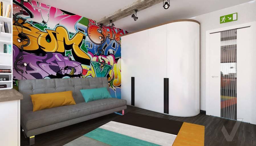 Дизайн комнаты мальчика в 5-комнатной квартире, Климовск - 4