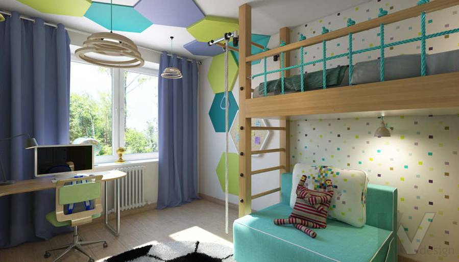 дизайн детской в 3-комнатной квартире, Новая Москва - 2