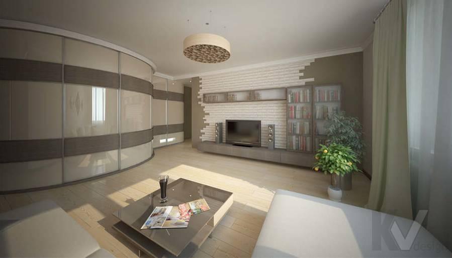 Дизайн гостиной - 2, Солнцево Парк