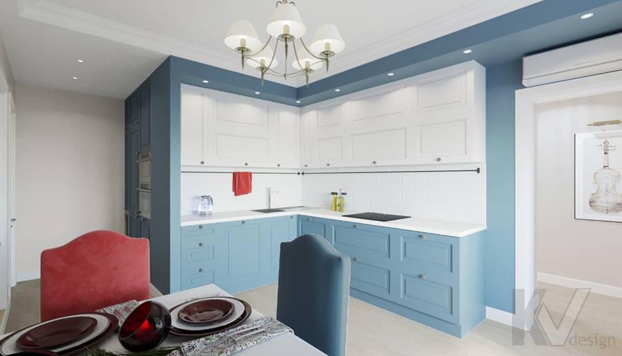 Дизайн кухни-столовой в квартире П-44Т, Переделкино Ближнее - 4
