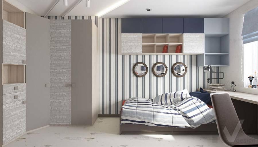 Дизайн детской в 3-комнатной квартире П-3М, Новое Ясенево - 6