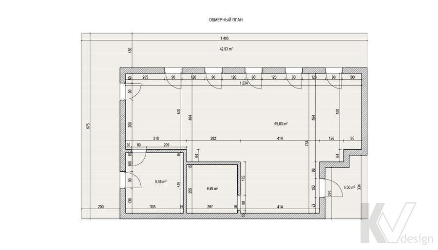 Дизайн таунхауса в Сочи, планировка