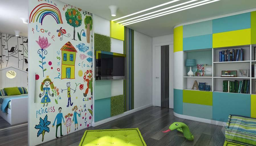 Дизайн игровой комнаты в 5-комнатной квартире, Климовск - 3