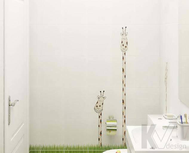 Дизайн 3 комнатной квартиры ЖК Богородский, санузел - 2