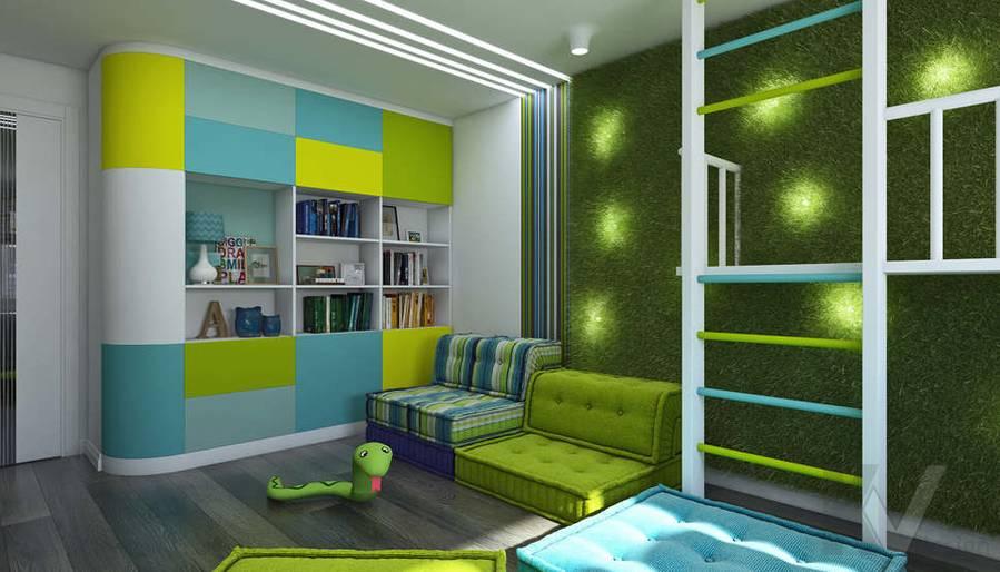 Дизайн игровой комнаты в 5-комнатной квартире, Климовск - 4