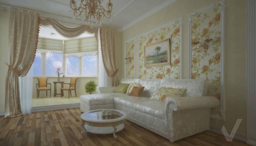 дизайн квартиры п 44т