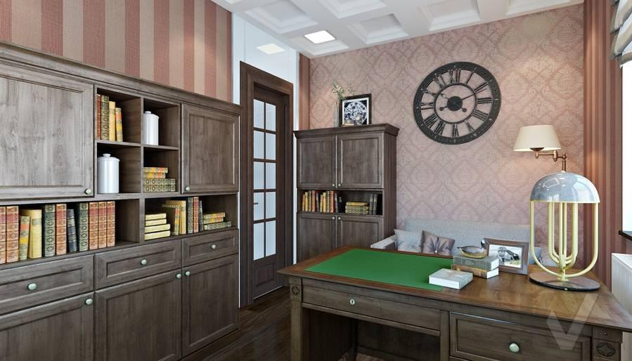 Дизайн кабинета в трехэтажном доме - 2