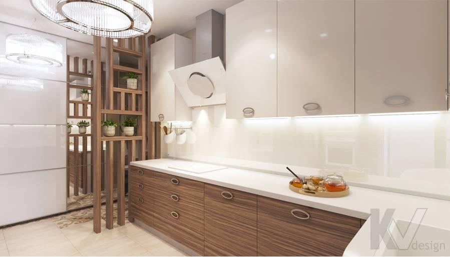 дизайн кухни в 3-комнатной квартире, Welton Park - 3