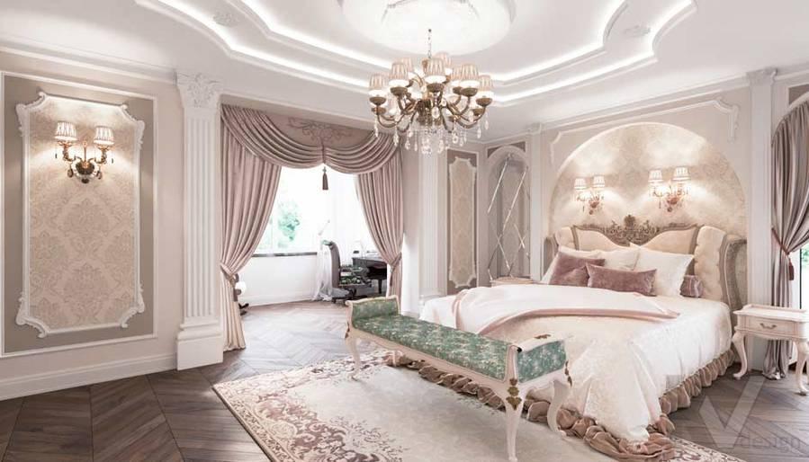 Спальня в загородном доме, Медвежьи Озера - 1