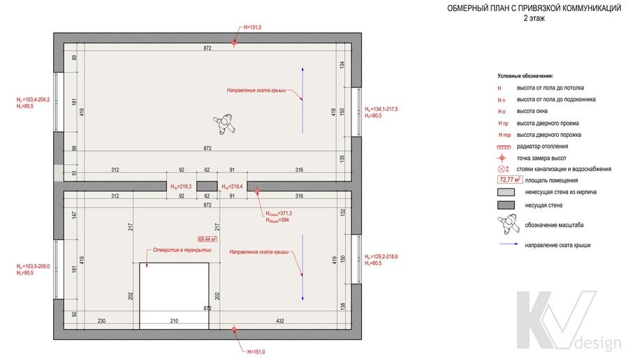 План второго этажа дома, КП Дубровские Зори