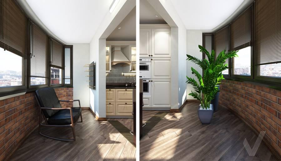 Кухня в 4-комнатной квартире, Реутов - 5