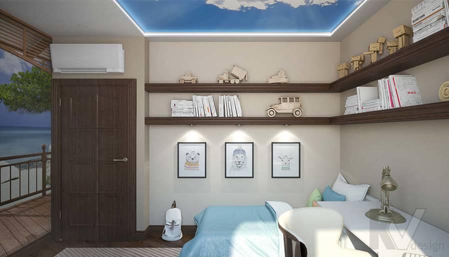 дизайн комнаты молодого человека, Одинцово - 4