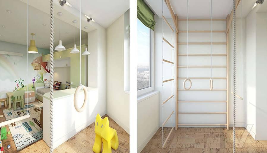 Дизайн детской в 2-комнатной квартире П-44Т, Московский - 6