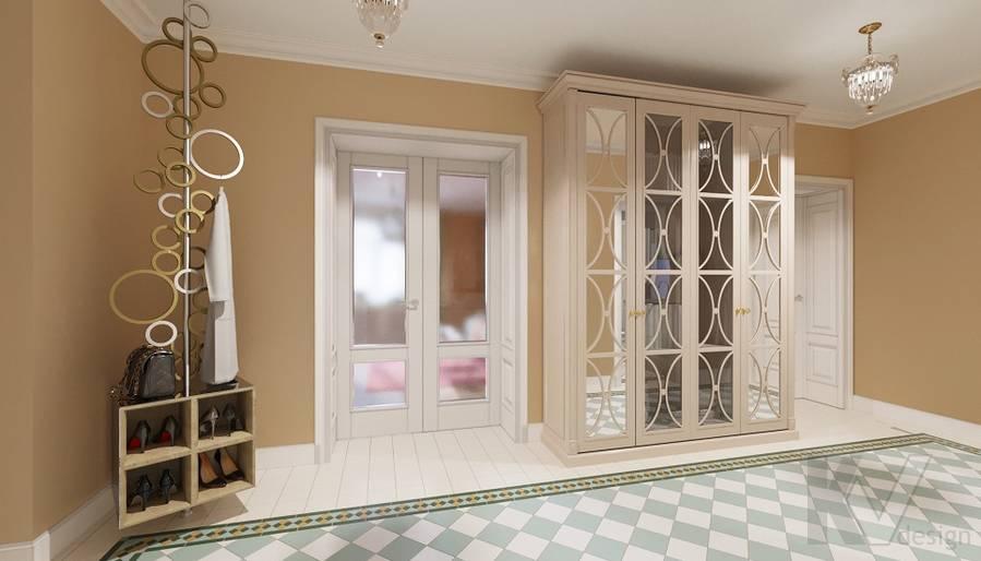 Дизайн прихожей в квартире на м. Смоленская - 4