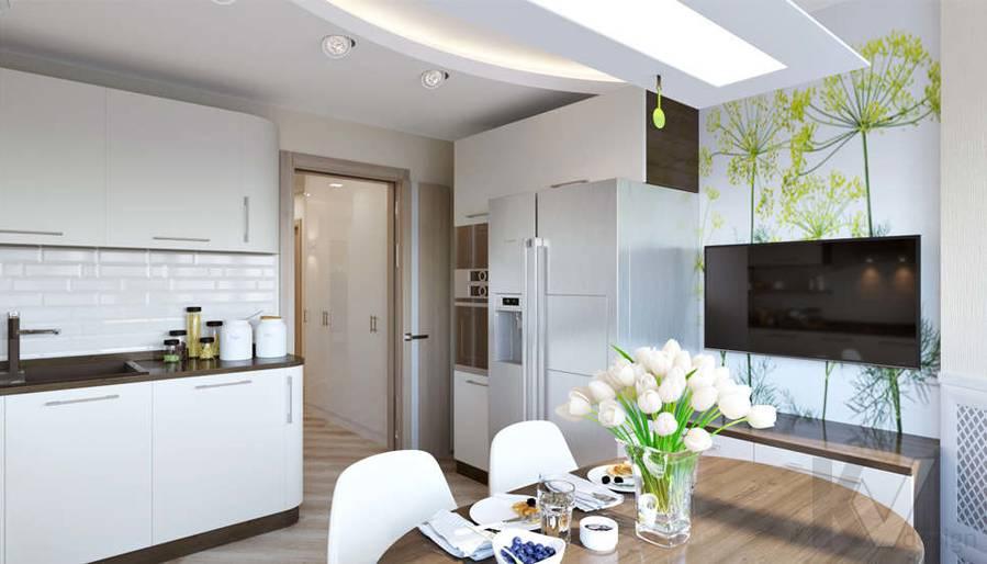 Дизайн кухни в 3-комнатной квартире П-3М, Новое Ясенево - 2