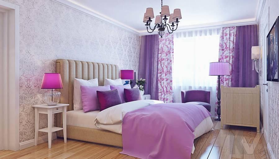 Дизайн спальни в квартире П-3М на Профсоюзной - 1