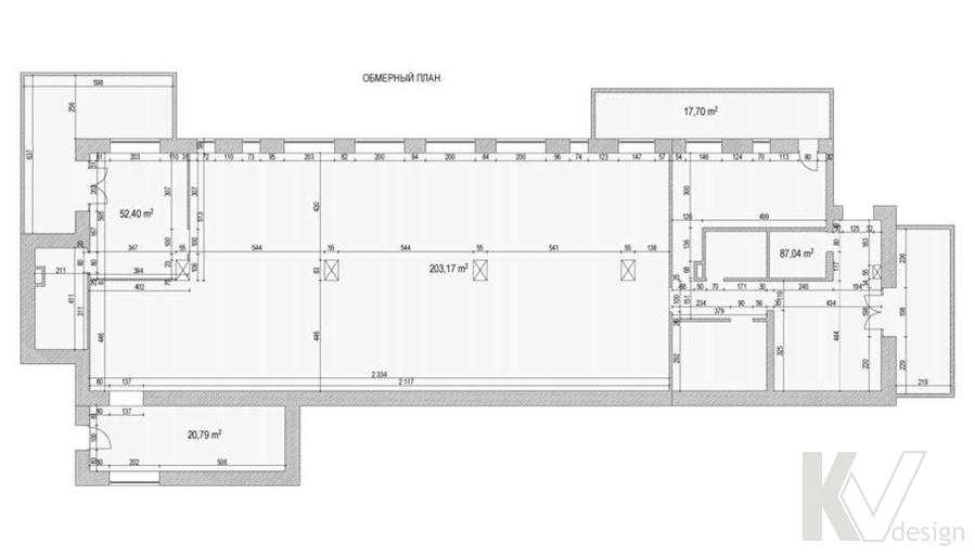Дизайн магазина мебели, планировка