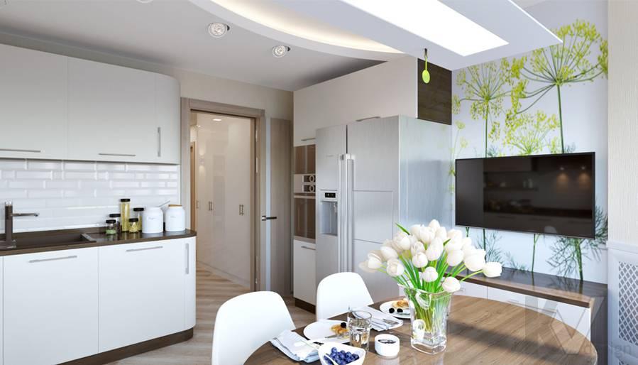 Дизайн кухни в 2-комнатной квартире, Некрасовка Парк - 2