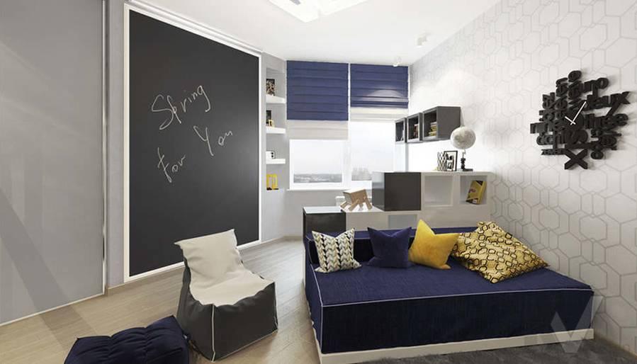 дизайн детской в 3-комнатной квартире, Троицк - 1