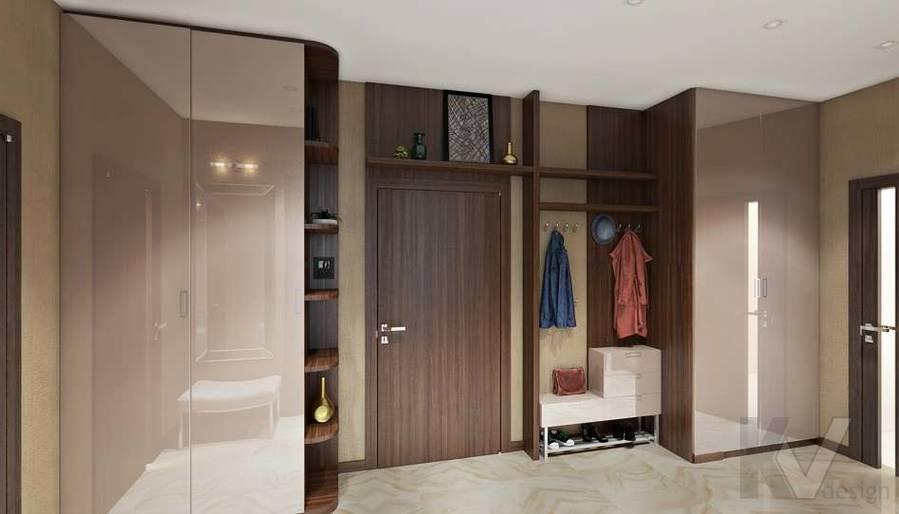 Дизайн рабочей зоны в двухкомнатной квартире, ЖК Розмарин