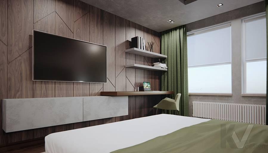 Спальня в 3-комн. квартире на Варшавском шоссе - 2