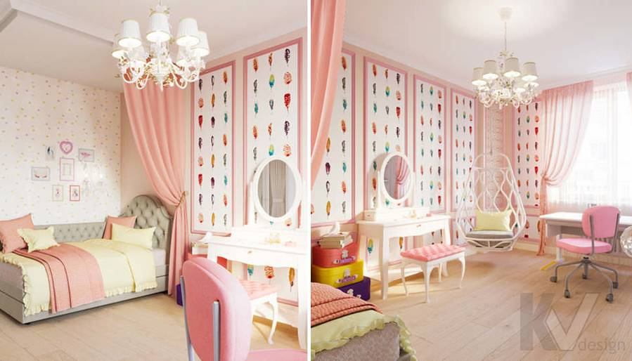 Детская комната в квартире в ЖК Union Park - 5