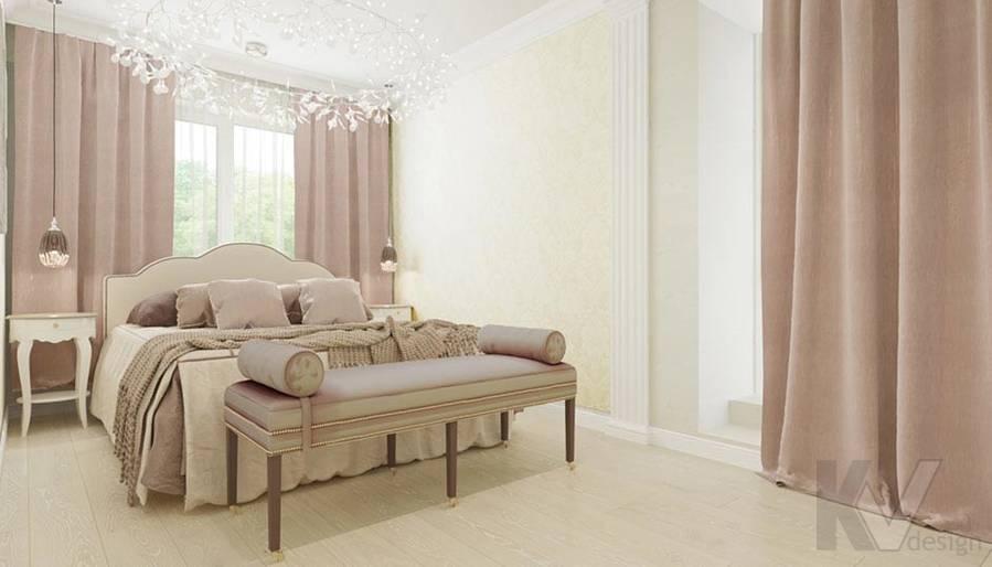 Дизайн спальни в квартире серии П-3, м. Братиславская - 3