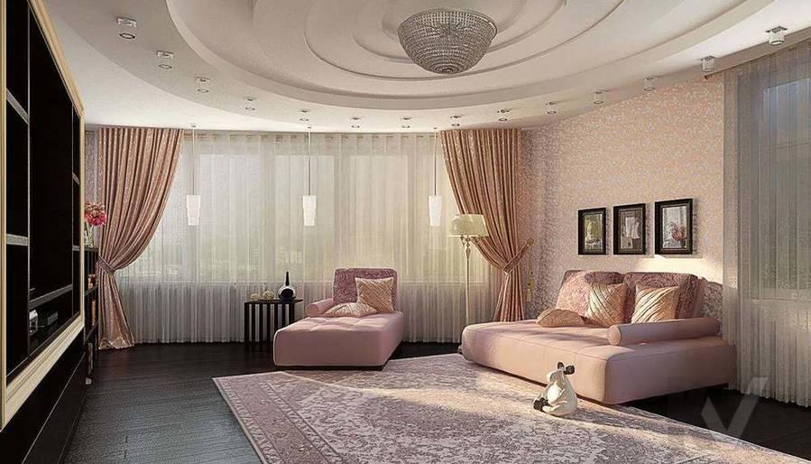 Декорирование квартиры в ЖК Квартал, гостиная - 2